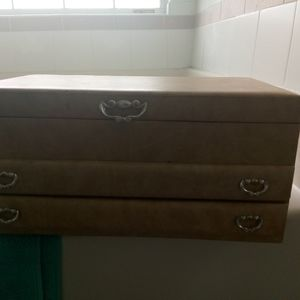 1960s vintage jewelry box